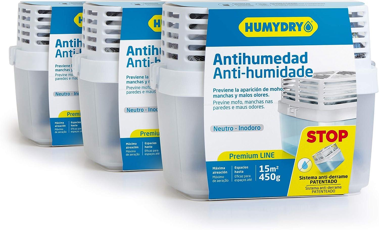 Lote HUMYDRY Antihumedad 3 Premium 450g