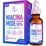 Niacinamide Serum for Face 12% Zinc-Vitamin B3 Anti Aging Skin Moisturizer - Vitamin B3 Anti Aging Skin Moisturizer…