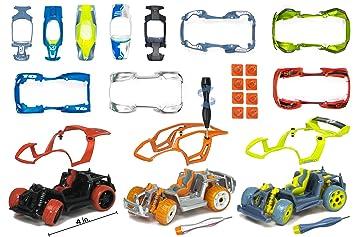modarri deluxe build your car kit toy set s1 x1 t1