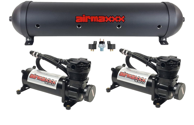 Amazon.com: airmaxxx Air Compressors 480 Black & 33 ...