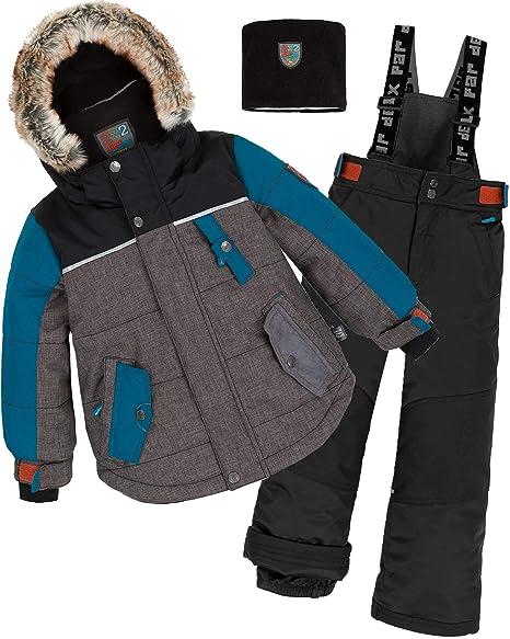 Amazon.com: Deux par Deux - Traje de snowsuit para niño (2 ...
