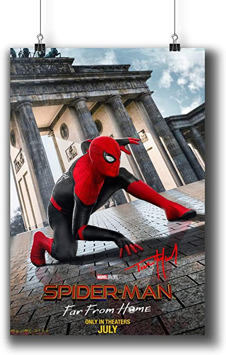 SPIDERMAN A3 GLOSSY POSTER  4