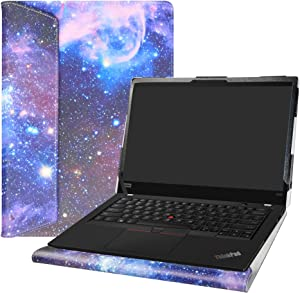 "Alapmk Protective Case Cover for 13.3"" Lenovo ThinkPad X390 X395 X13 L13/ThinkPad X390 Yoga/ThinkPad L13 Yoga/ThinkPad X13 Yoga Series Laptop [Warning:Not fit ThinkPad X380 Yoga],Galaxy"