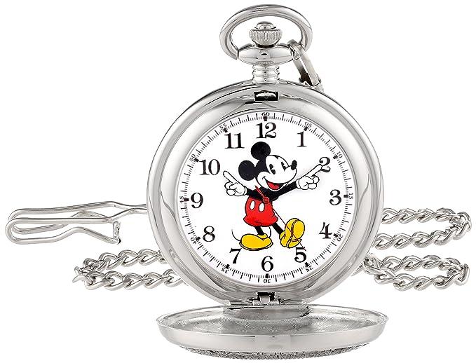 603d8c957c92 Disney Reloj de Bolsillo para Hombre 56403-3467 Mickey Mouse  Amazon ...