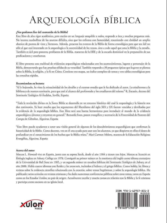 Arqueologia biblica spanish edition marcos l howard arqueologia biblica spanish edition marcos l howard 9781609578312 amazon books fandeluxe Gallery