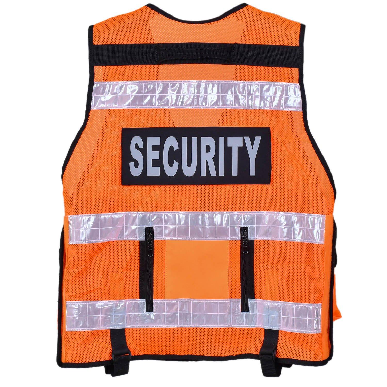 cam/éra de surveillance Pour maintien de lordre s/écurit/é Gilet haute visibilit/é tactique vert ma/ître-chien