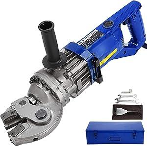Happybuy Electric Hydraulic Rebar Cutter, 1250W Rebar Cutter Rebar Cutting Machine Cut 18mm Rebar within 5s