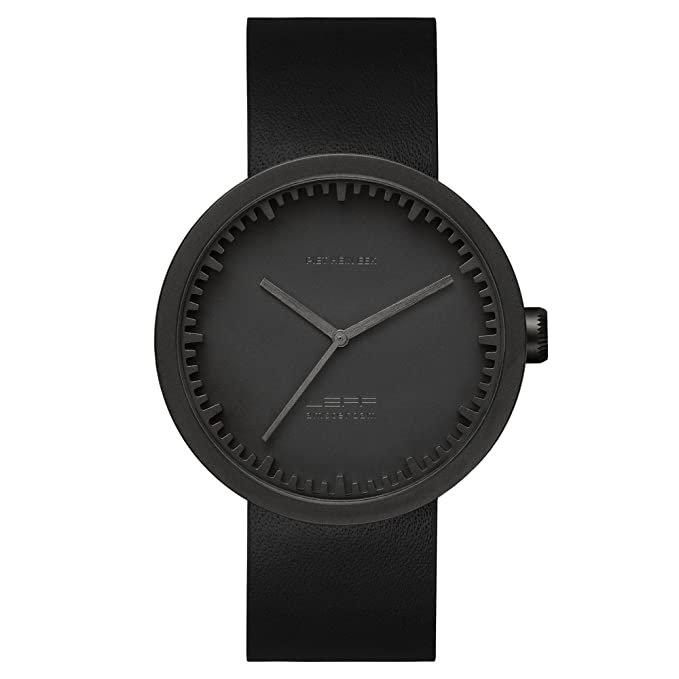 Amazon.com: piet hein eek tube watch D38 black/black: Piet Hein Eek: Watches
