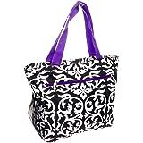cd7034ba623a Amazon.com: SilverHooks Womens Polka Dot Insulated Lunch Tote Bag ...