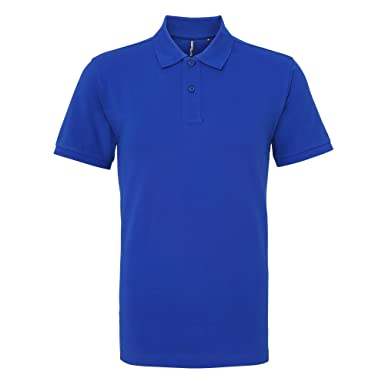 Asquith & Fox Asquith and Fox Mens Polo, Azul (Royal 000), X ...