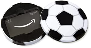 Amazon.com $25 Gift Card in a Soccer Tin