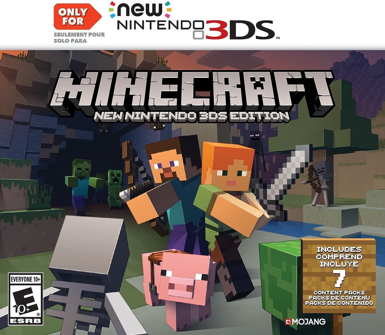 Amazon.com: Minecraft: New Nintendo 3DS Edition - Nintendo ...