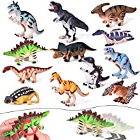 Deals on Fun Little Toys 12 Pieces Assorted Wind Up Dinosaur Toys