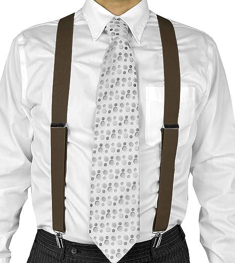 9082d8837 Moda Di Raza Suspender For Men Heavy Duty Y Type Clip 2 quot  Adjustable  Straight Clip