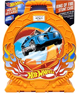 Hot Wheels Ring Of Fire 40 Car Storage Case W/Carrying Handle