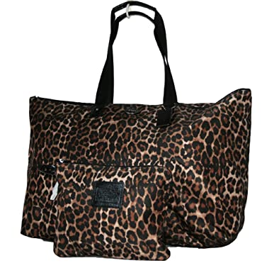 44e2919dee2e ... denmark coach ocelot print weekender bag tote packable 32922 60419 f79e0
