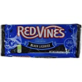 Red Vines Licorice Twists 5 oz Tray (Pack of 4) (Black Licorice)
