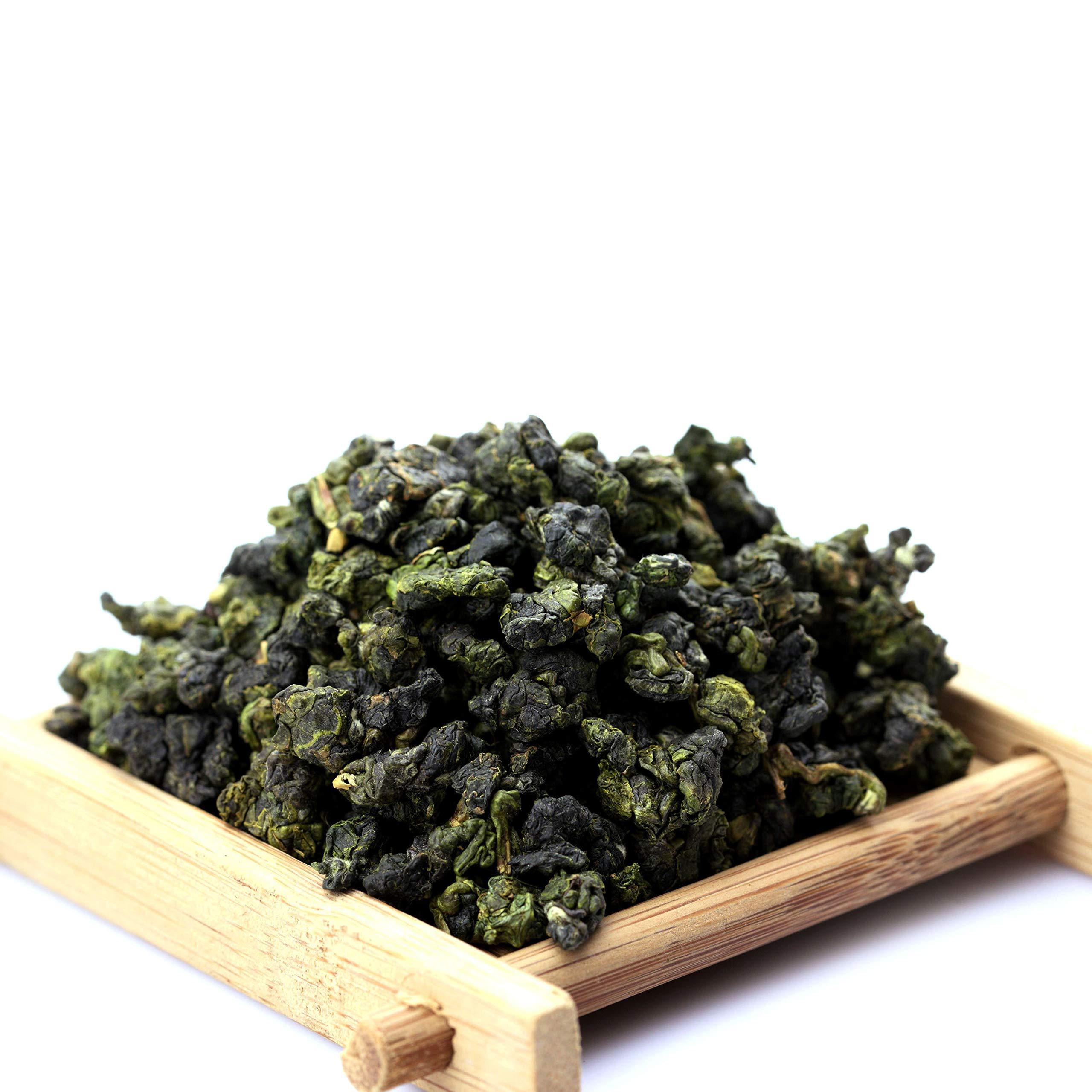 GOARTEA 250g (8.8 Oz) Organic Supreme Taiwan High Mountain Jinxuan Jin Xuan Milk Oolong Tea