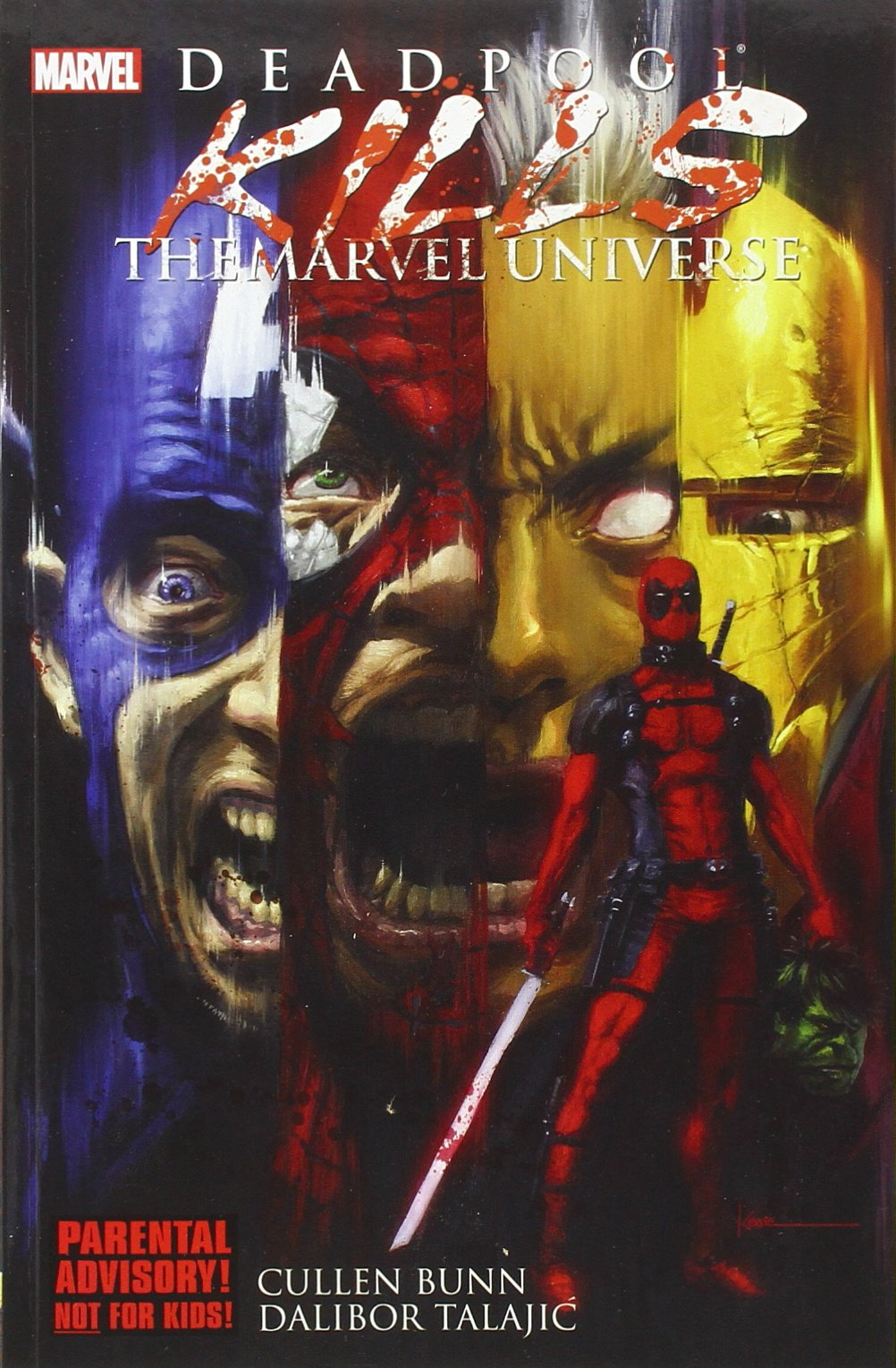 Deadpool Kills Marvel Universe Cullen product image