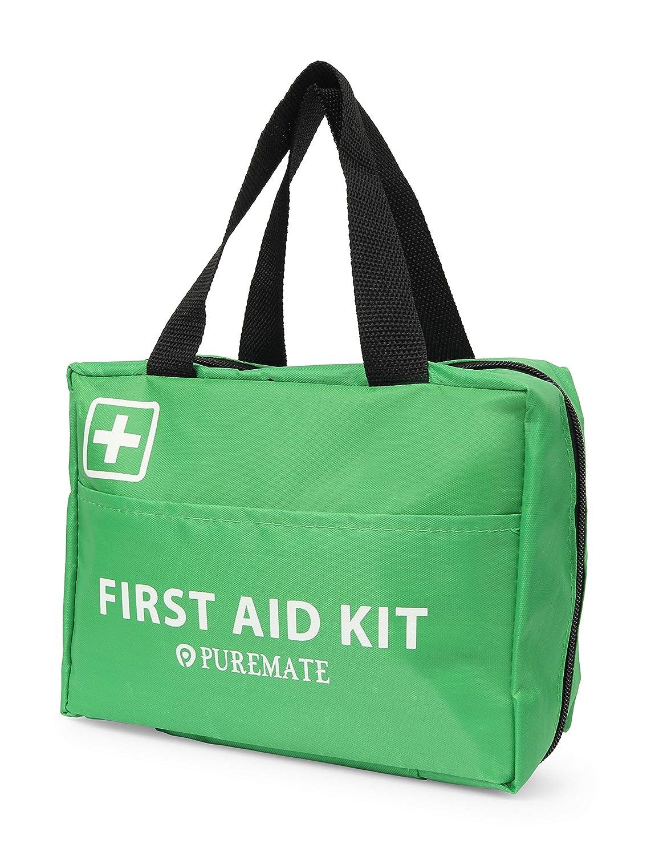 rilievo in fustagno casa Kit di pronto soccorso da 225 pezzi Kit di emergenza Include colliri maschera per il viso CPR e coperta per viaggi impacco di ghiaccio ufficio e auto freddo