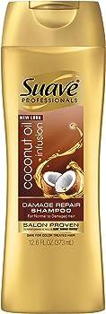 Suave Professionals Coconut Oil Infusion Damage Repair Shampoo 12.6 oz