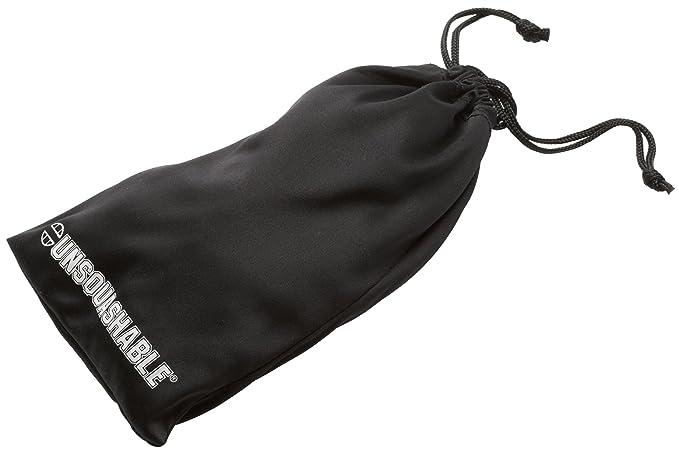 Unsquashable - Gafas Protectoras de Squash (Lente Transparente), Color Negro
