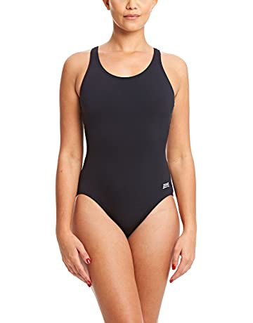 4134d030adc Zoggs Women's Cottesloe 100% Chlorine Free Powerback Swimming Costume.  pricefrom £16.23