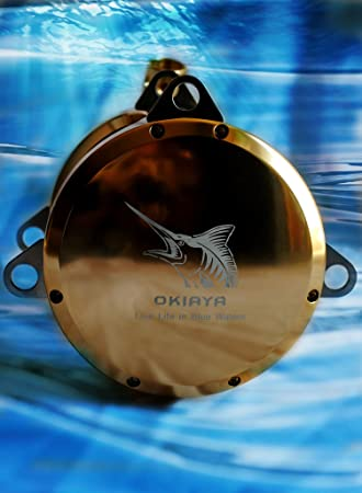 OKIAYA Pro-National 80W-II 2 Speed Big Game Reel