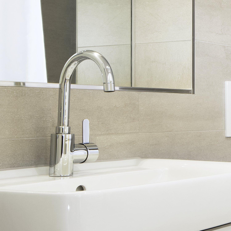 grohe robinet de salle de bains eurosmart cosmopolitan clapet de ... - Mitigeur Haut Salle De Bain