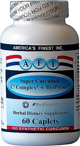 AFI Super Curcumin C3 Complex w BioPerine