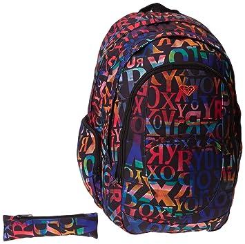 Roxy Outta Lettering X3 - Mochila de senderismo (mujer), color antracita, talla UNISIZE: Amazon.es: Deportes y aire libre