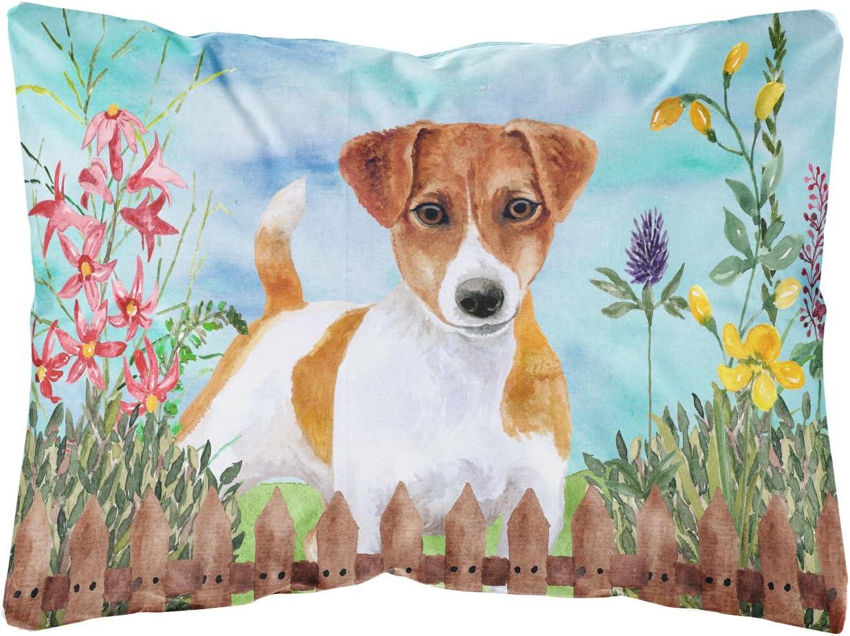 WY-Pillow Warrantyll Jack Russel Coussin carr/é en Coton d/écoratif Motif Chien Coton Color 1 16*16 40 * 40cm