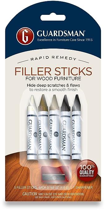 Guardsman Wood Repair Filler Sticks -  Colors Plus Sharpener