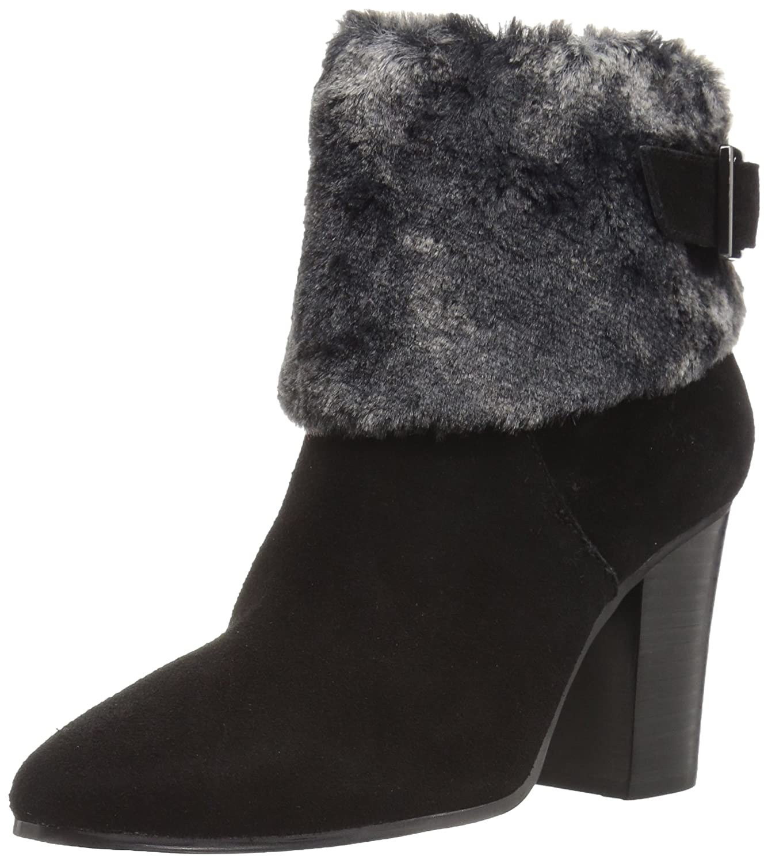 Aerosoles Women's North Square Ankle Boot B074GZCJ37 9.5 B(M) US|Black Suede