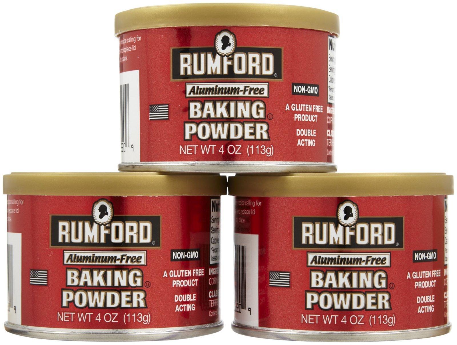 Rumford Gluten Free Baking Powder - 4 oz - 3 pk