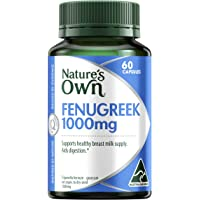 Nature's Own Fenugreek 1000mg – 60 Capsules