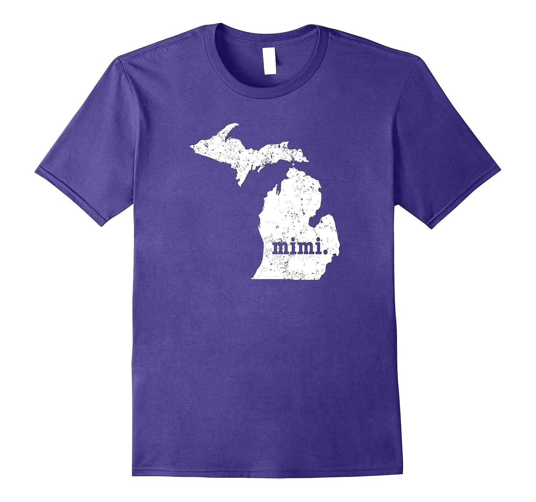 Mimi Shirt Michigan T Shirt Mimi T Shirts Grandma Shirt-Vaci