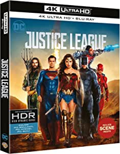 justice league (4k ultra hd+blu ray) blu_ray Italian Import