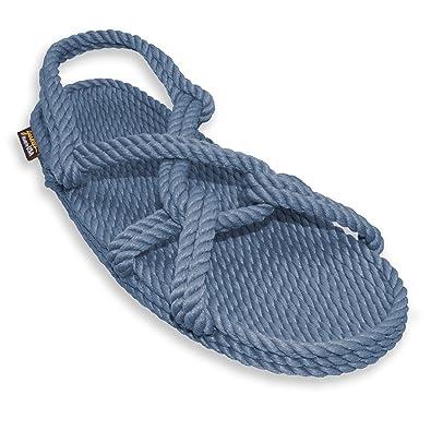 Gurkee's Men's Overstock Handmade Rope Sandals Barbados Blue