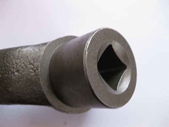 Gusseisen Kurbeln Griff 12/mm Bohrung Maschinenschraubstock Fr/äsen-Bohrer S/äge Handrad Motor