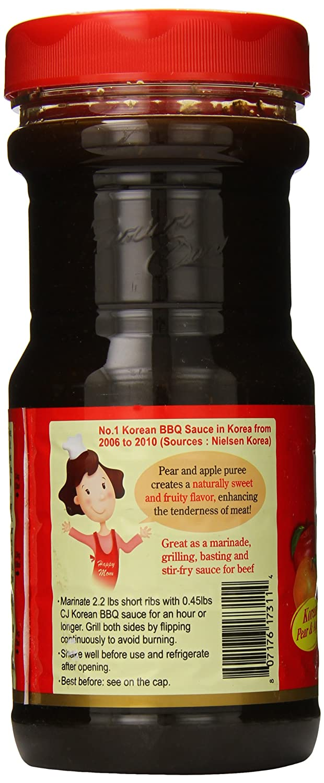 Amazon com : CJ Korean BBQ Sauce, Kalbi, 29 63 Ounce (Pack