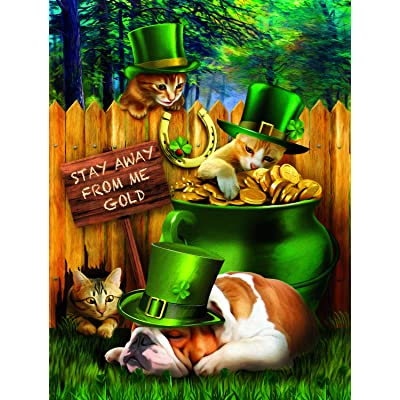 Stealin Me Gold 300 pc Jigsaw Puzzle by SUNSOUT INC: Toys & Games
