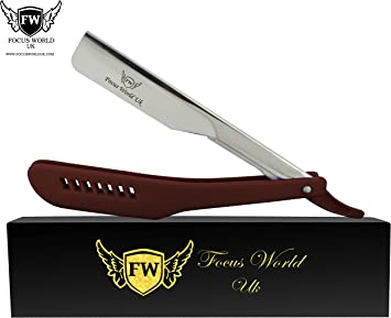 Maquinilla de afeitar profesional marrón para hombres para ...