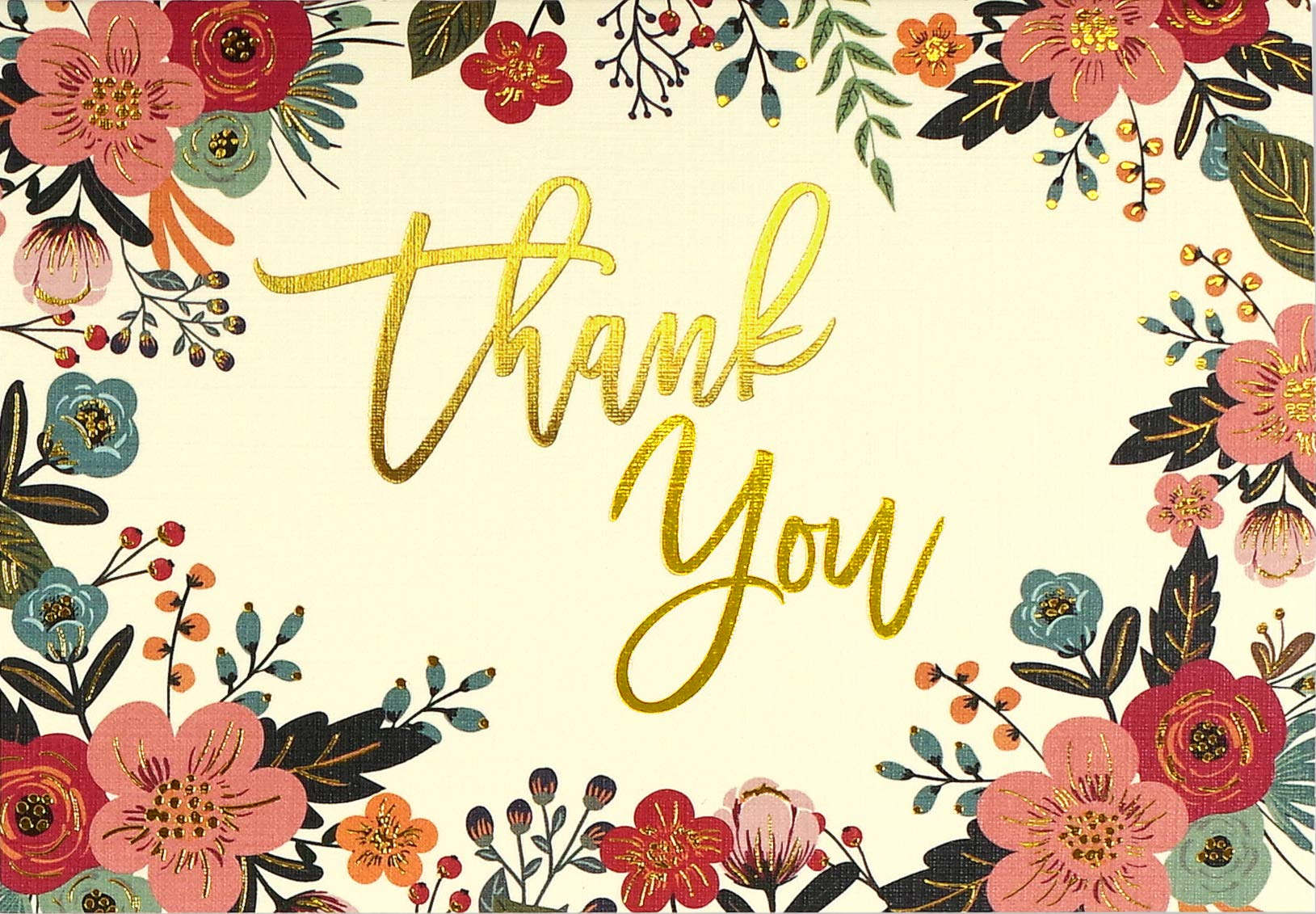 Fall Stationery Fall Personalized Stationery Thanksgiving Thank you Note Floral Spray Thank You Flat Note Cards