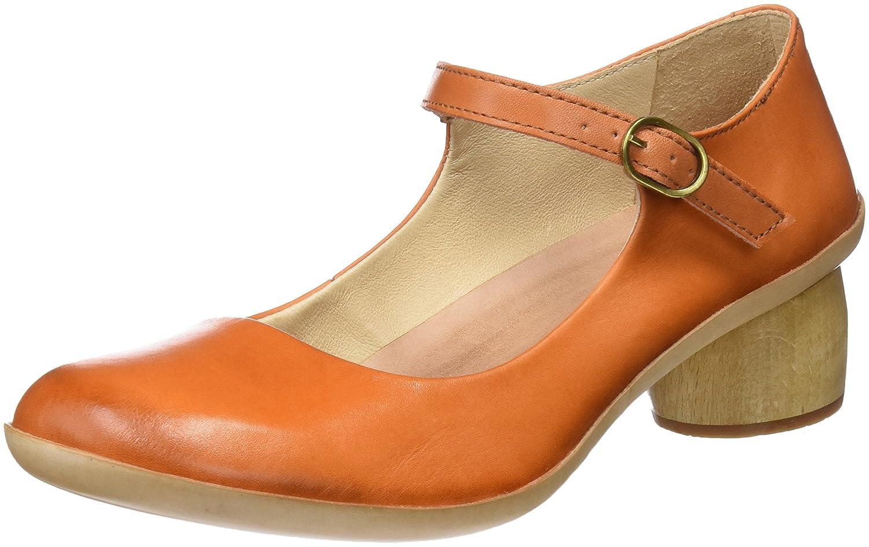Womens S696 Restored Skin Carrot/Tintorera Closed Toe Heels Neosens bMUGRf8OY2