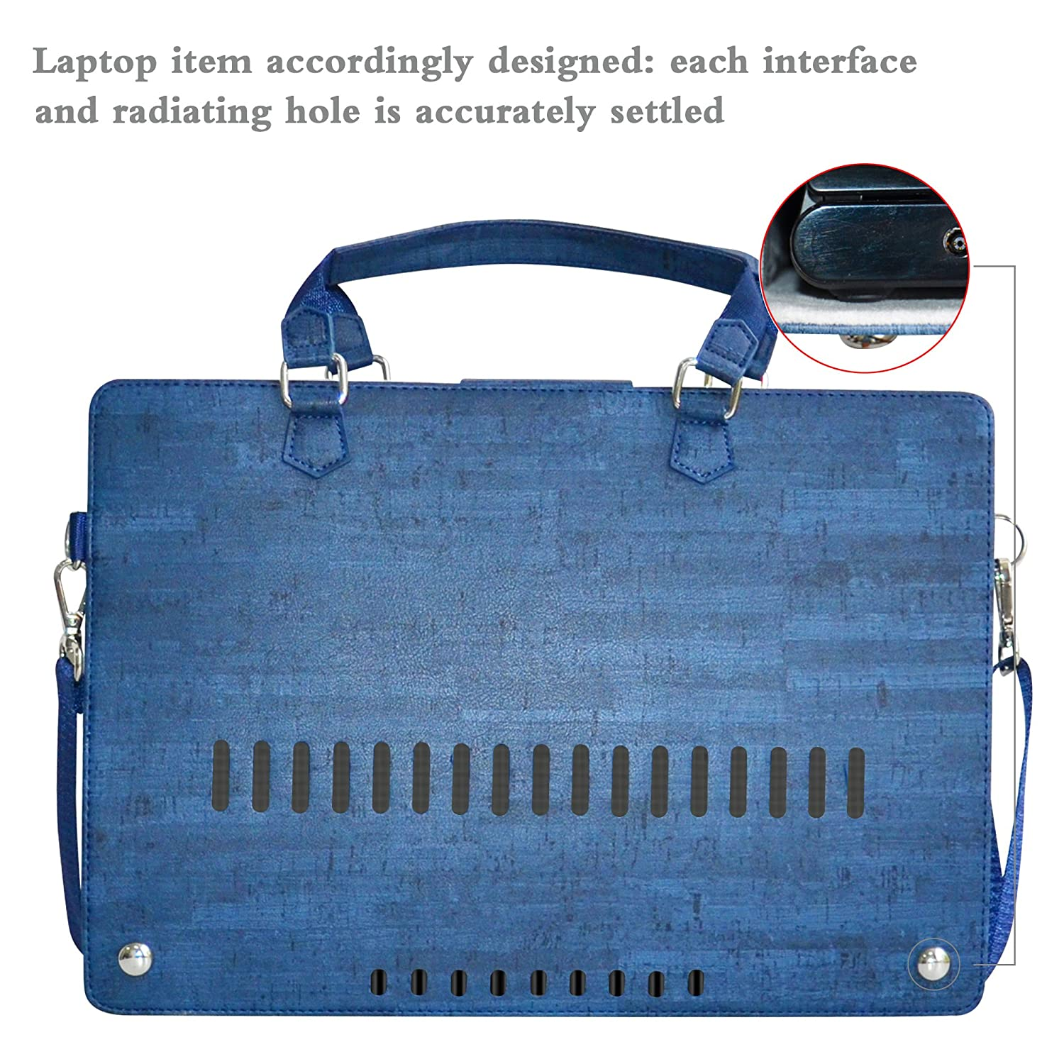 Envy x360 15 Case,2 in 1 Accurately Designed Protective PU Leather Cover + Portable Carrying Bag for 15.6