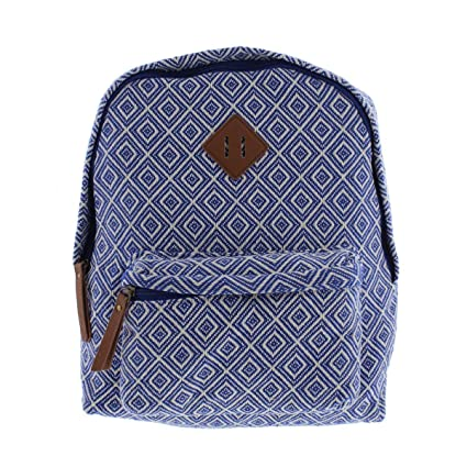 6371dd84247219 Amazon.com: Madden Girl Womens Bkoach Printed Adjustable Backpack Blue:  Computers & Accessories