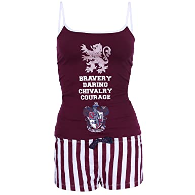 Harry Potter Griffindor - Pijama - para mujer: Amazon.es: Ropa y accesorios