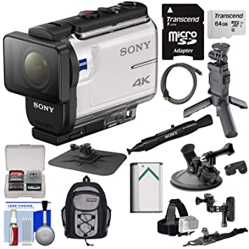 Amazon.com: Sony Action Cam fdr-x3000 WiFi GPS 4 K HD cámara ...