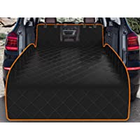 iBuddy SUV Trunk Cargo Liner for Dogs with Mesh Window Waterproof Pet and Dog Cargo Cover for SUV and Jeep with Nonslip…